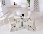 Kursi Diner Set Stainless Furniture