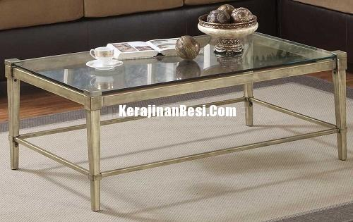 LOVE Table Glass Stainliss