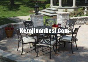 Beautiful Black Iron furniture for Vila Jakarta