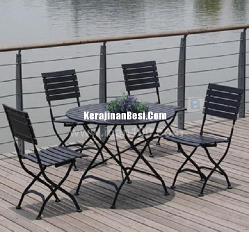 Italion Black Dining set