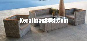 Unique Rattan Sofa Set Good For Living Room